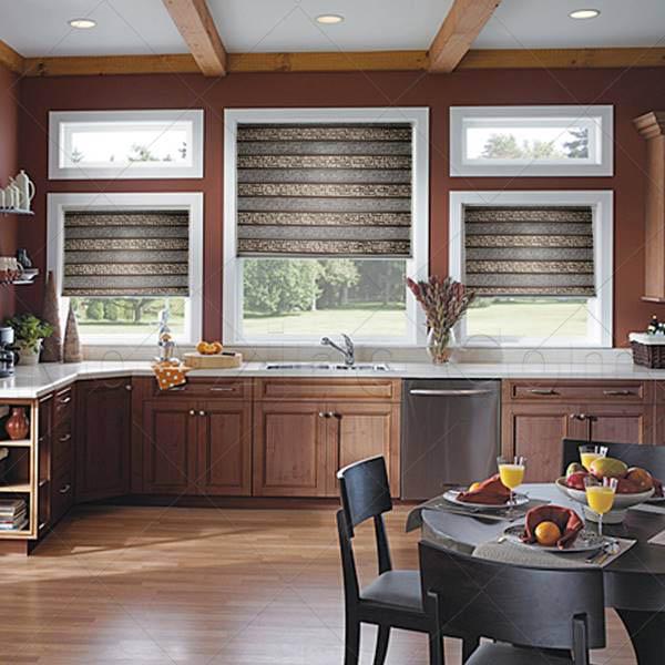 انتخاب پرده ,پرده آشپزخانه, پرده زبرا برای آشپزخانه, پرده های بالارونده, پرده های کنترلی ,پرده های مدرن, پرده زبرا مناسب آشپزخانه, پرده مناسب آشپزخانه, 