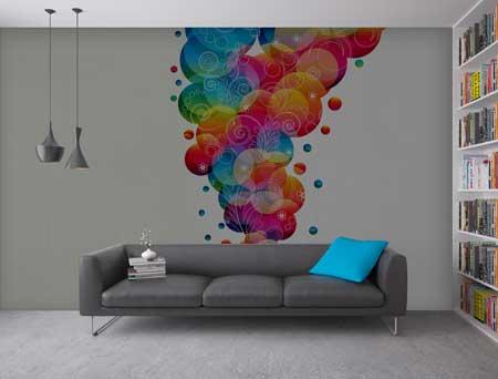 کاغذ دیواری , کاغذ دیواری سه بعدی , دکوراسیون کاغذ دیواری منزل , مدل کاغذ دیواری سه بعدی , کاغذ دیواری های زیبا