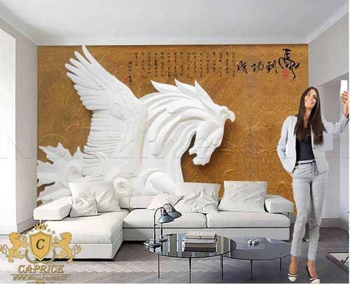 طرح های الهام بخش کاغذ دیواری 3 بعدی,کاغذ دیواری پوستری,کاغذ دیواری 3 بعدی,کاغذ دیواری,انواع کاغذ دیواری,پوستر دیواری