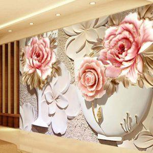 کاغذ دیواری سه بعدی,دکوراسیون,پستر دیواری,تولید کننده انواع کاغذ دیواری سه بعدی,نوآذین