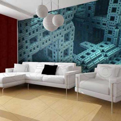 نوآذین تولید کننده کاغذ دیواری سه بعدی مناسب اتاق پذیرایی