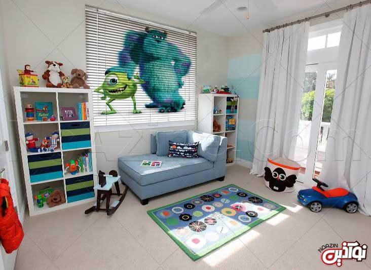 پرده مناسب اتاق خواب کودک و نوجوان
