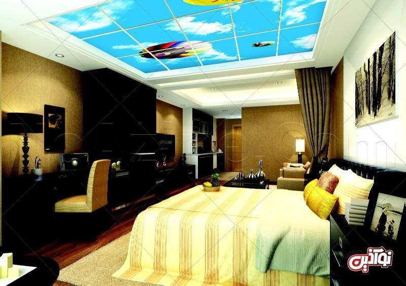 آسمانی رنگارنگ در اتاقخوابتان با اسکای لایف