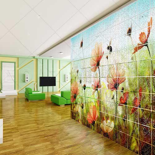 انواع دیوار پوش و استفاده از دیوار مجازی پلکسی در دکوراسیون داخلی