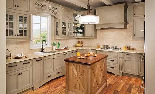 طرح و رنگ و مدل کابینت آشپزخانه در دکوراسیون داخلی 2018