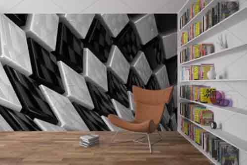 کاغذ دیواری سه بعدی ، بلیط کم هزینه برای سفر به طبیعت بکر