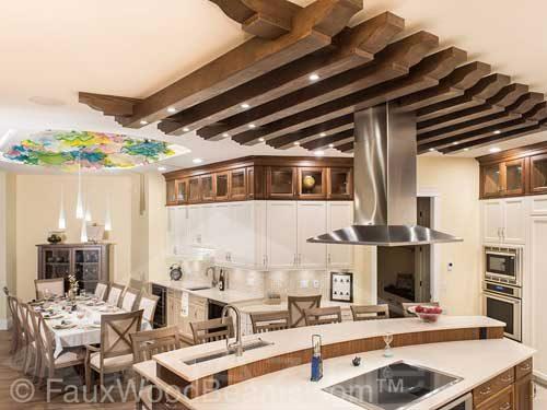انواع مدل سقف آشپزخانه در طراحی دکوراسیون داخل منزل