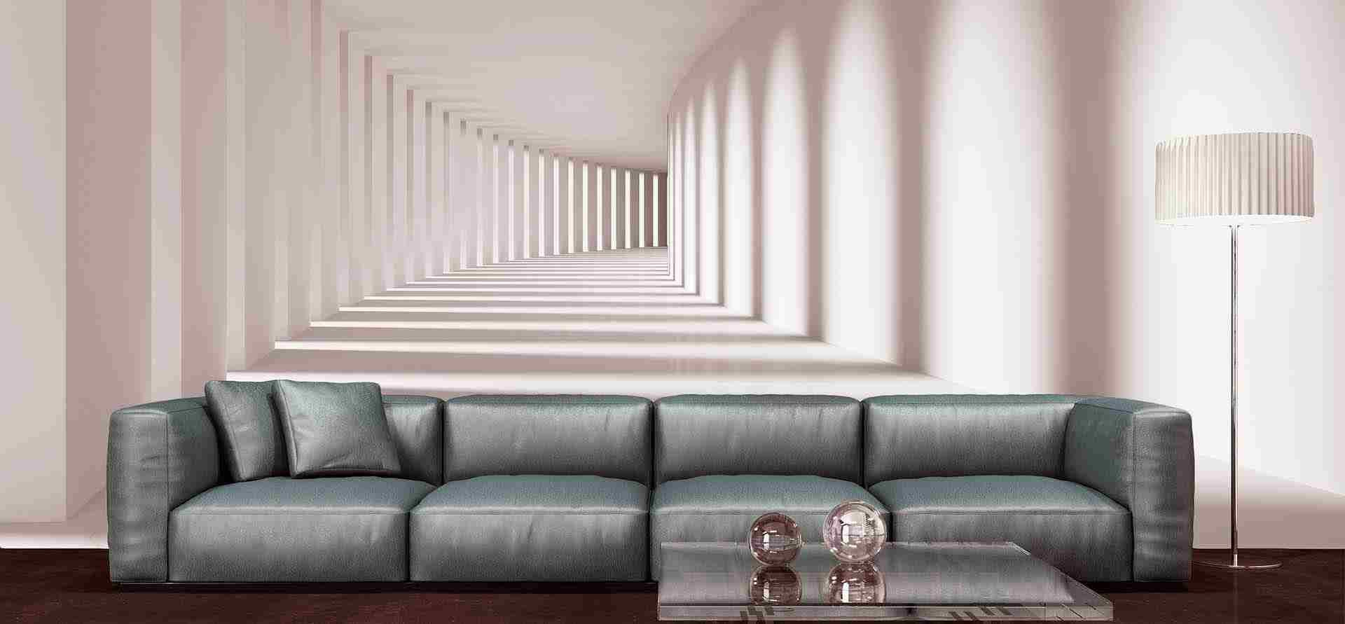 کاغذ دیواری سه بعدی مدرن و بروز