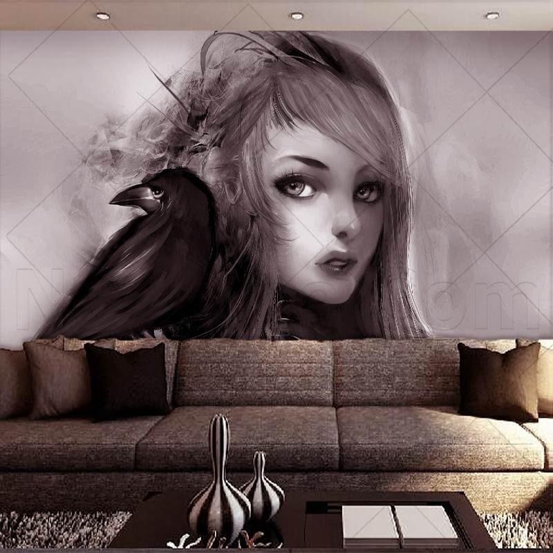 کاغذ دیواری های زیبا و کاغذ دیواری سه بعدی برای استفاده در دکوراسیون کاغذ دیواری منزل