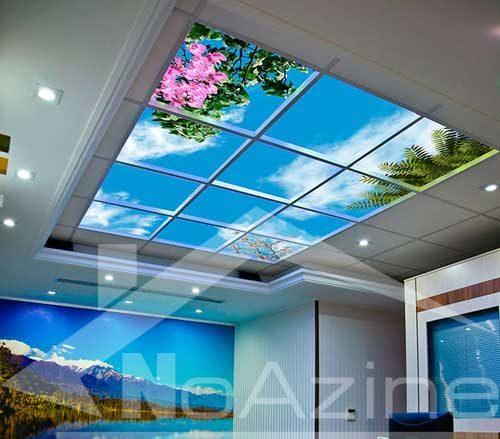 کناف سقف پذیرایی در دکوراسیون پذیرایی منزل